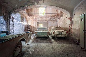 Fiat in einer Scheune von Kristof Ven