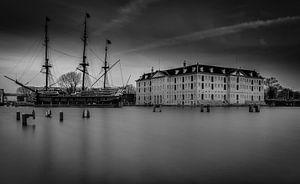 Het Scheepvaart Museum Amsterdam van