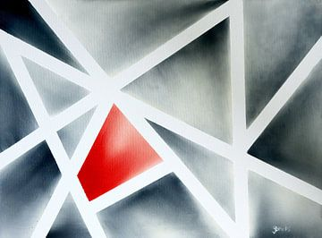 Etwas Rot von Yvonne Smits