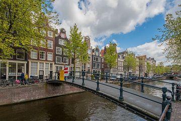 Loopbruggetje Brouwersgracht Amsterdam von Peter Bartelings Photography