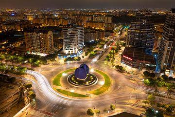 Valencia skyline van Sjors Gijsbers