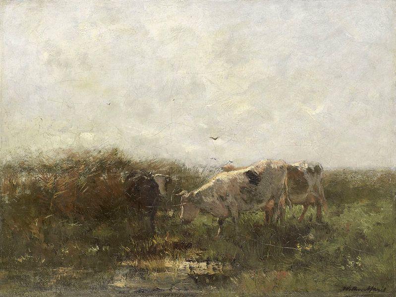 Kühe, Willem Maris von Meesterlijcke Meesters