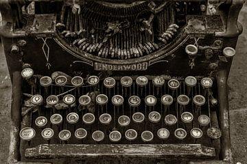 alte Underwood Schreibmaschine von Bert Bouwmeester