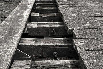 verlaten  spoorweg van Jean Jacobs