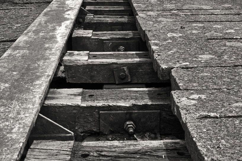 verlaten  spoorweg von Jean Jacobs