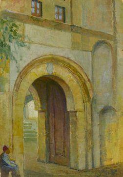 Hüseyin Avni Leben (Türkisch, 1886-1927)~Karawanserai-Tor