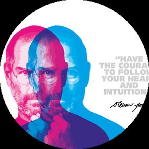 Steve Jobs Quote van Harry Hadders
