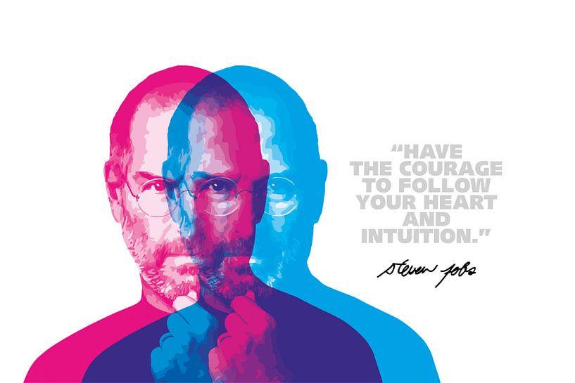 Citation de Steve Jobs sur Harry Hadders