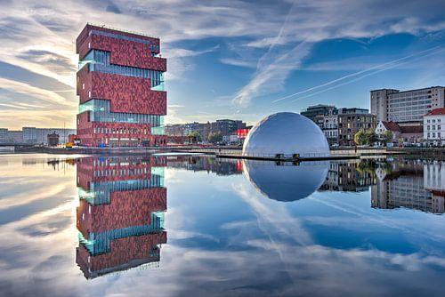 Museum Aan de Stroom Antwerpen. von Jef Wils