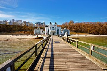 Der Pier von Sellin (Rugen Deutschland) von Jaap Spaans