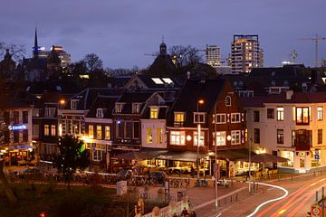 Lange Jufferstraat en Lucasbolwerk in Utrecht  sur Donker Utrecht