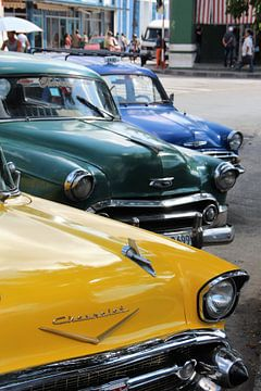 Oldtimers in Cuba van Ivo Schuckmann