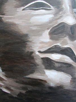 Face II van Linda Dammann
