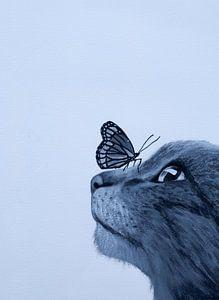 Kat en Vlinder von