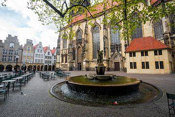 Frühling in der St. Lambertikirche (Münster)