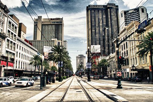 New Orleans USA van
