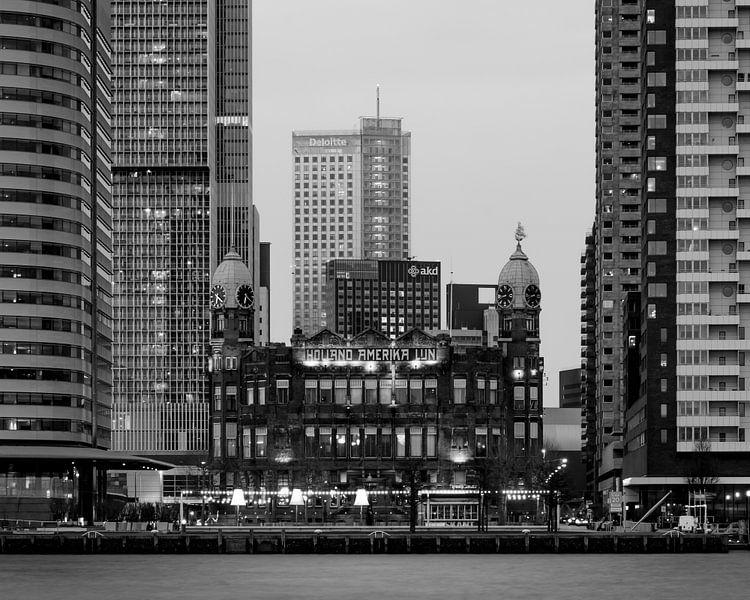 Hotel New York tussen de reuzen van Edwin Muller