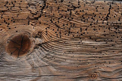 Old Wood Bryggen IV van Cor Ritmeester