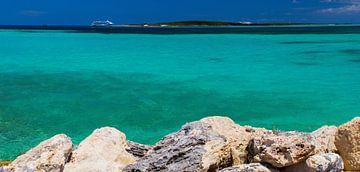 Coco-Cay privé strand, Bahamas van Yevgen Belich