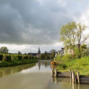 De Kromme Rijn bij Wijk bij Duurstede van Marijke van Eijkeren
