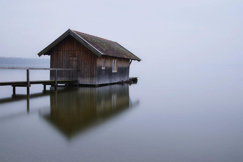 Altes Bootshaus in Stegen van Heiko Obermair