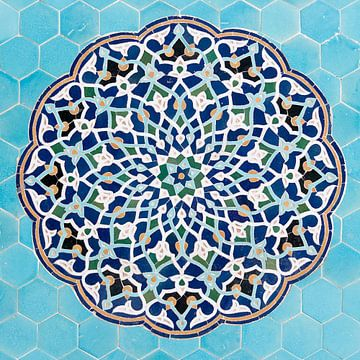 Mozaiek  van Adri Vollenhouw
