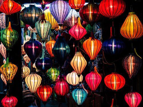 Colorful lanterns in Hoi An, Vietnam von
