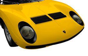 Lamborghini Miura in original yellow von aRi F. Huber