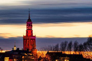 Der alten Stadt von Kampen in Overijssel von Sjoerd van der Wal