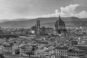 Florence, Italië - Uitzicht over de stad - 5 van Tux Photography