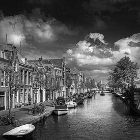 Leiden in zwart wit van Patrick Herzberg