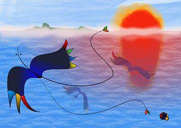 das Meer von Chris van Moorsel