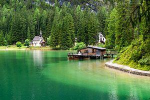 Pragser Wildsee  Lago di Braies van