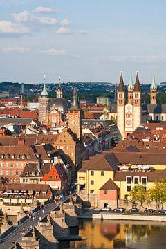 Würzburg in Frankenland van Werner Dieterich