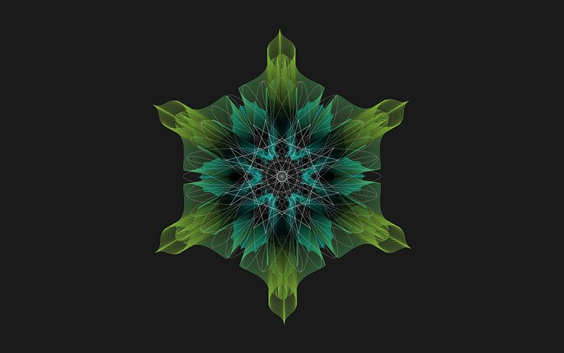 Geometric illustration von ymkje veenstra
