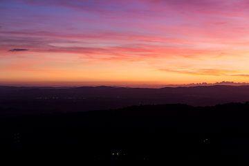 Toskanischer Sonnenuntergang von MDRN HOME
