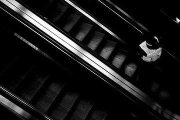 Rolltreppe 4 von Bart Rondeel
