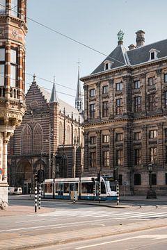 Architectuur in Amsterdam, Nederland. van Lorena Cirstea
