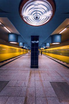 Berlijnse ondergrondse van Iman Azizi