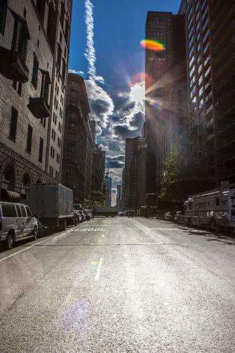 Manhattan, New York Downtown van