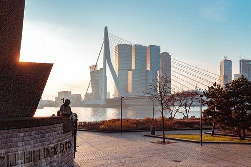 Monument de Boeg in Rotterdam