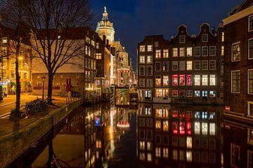 Le quartier rouge d'Amsterdam sur Fotografie Ronald