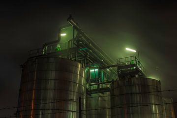 Industriële Nacht-03 van Björn Massuger