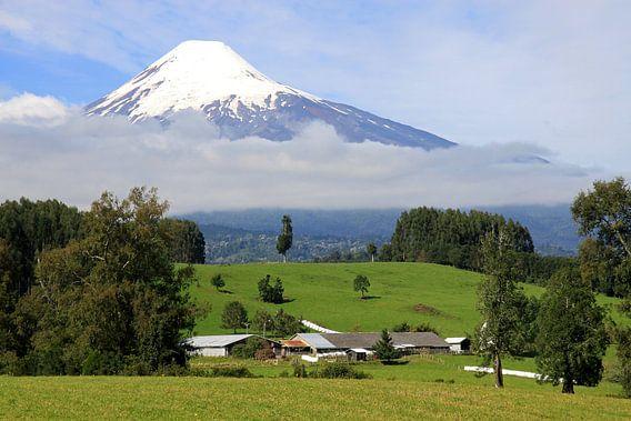 Osorno vulkaan van Antwan Janssen