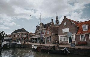 Hafen von Monnickendam von Sam ter Veer