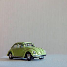 Lightgroene Volkswagen Kever van Robin Witteman