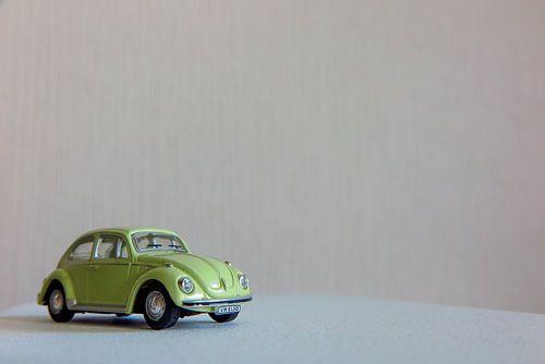 Lightgroene Volkswagen Kever