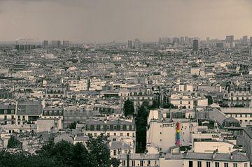 Parijs - graffiti von Arthur de Rijke