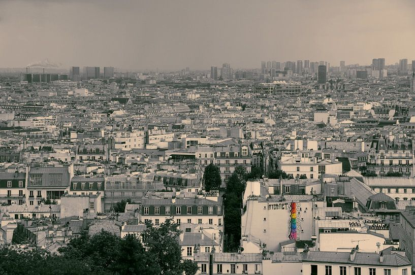 Parijs - graffiti sur Arthur de Rijke