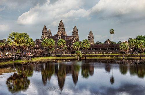 Angkor Wat, Cambodja von Jaap van Lenthe